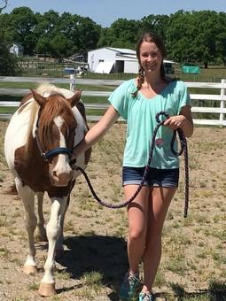 PWer Kelsie Donaldson Interns with MSU Tollgate Farm