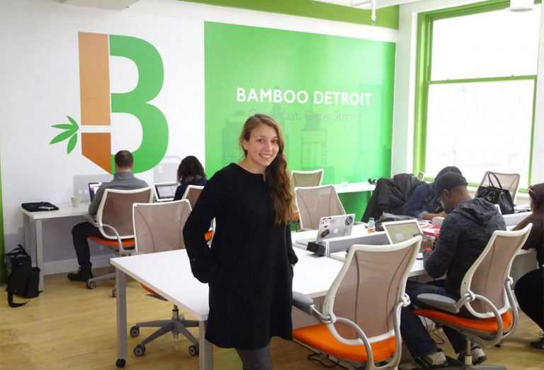 Alumna is a Pioneer of Co-Working Spaces in Detroit
