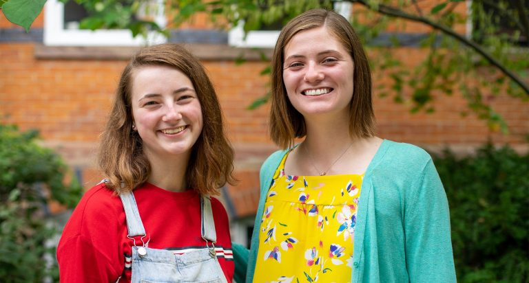 Citizen Scholar Sisters Draw Inspiration from the Program