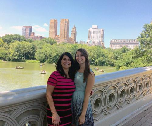 Alexandria Drzazgowski in New York City
