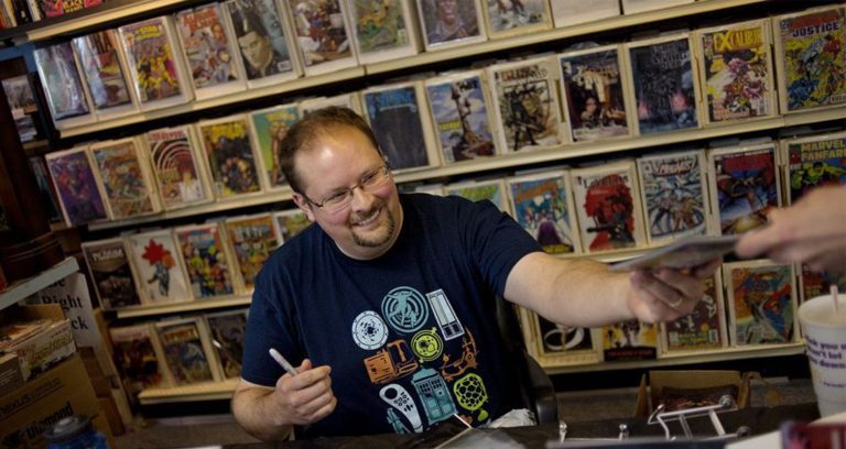 From Ph.D. to Successful Comic Book Writer