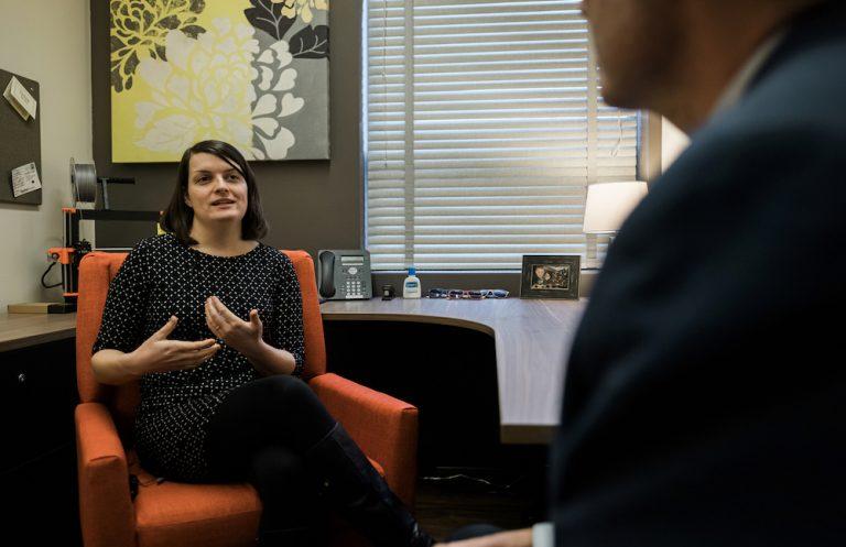 LAE Podcast Hosts Assistant Professor Christina Boyles