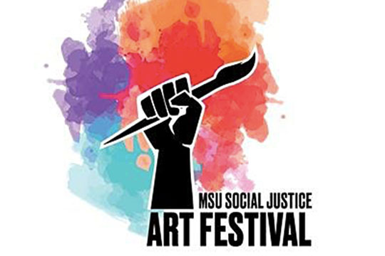 College of Arts & Letters Students Win at Social Justice Art Festival