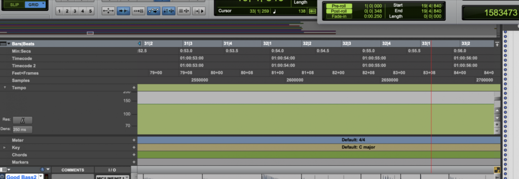 An audio editor program with several open files displayed as audio waveforms